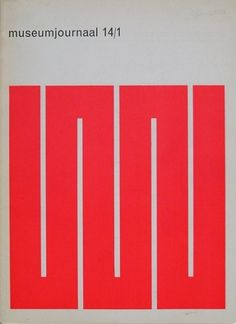 magazine cover by Juuriaan Schrofer (1960's)