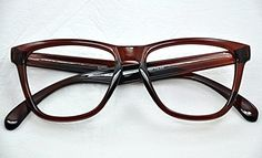 9130 Geek/Nerd Retro Fashion Large Framed Reading Glasses+1.0+1.5+2.0+2.5 (Brown, 1.5 x)