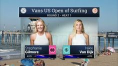 2016 Vans US Open of Surfing: Round Two, Heat 1