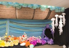 Noah's Ark decorating idea for Ocean Commotion Vacation Bible School 2016