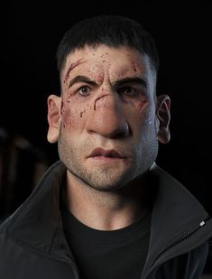 ArtStation - Frank Castle - Punisher, Henrique Tomé