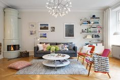 Colorful Scandinavian Apartment Infused With Rich and Inspiring Details - http://freshome.com/2014/09/05/colorful-scandinavian-apartment-infused-with-rich-and-inspiring-details/