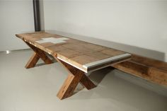 """CARLOS LITTLE - USA    """"Trash does not exist. We live in a closed-loop system. You can't delete things or thoughts, they have to go somewhere. So I have no interest in reclaimed materials. All materials are reclaimed. Some are manufactured to appear new, but new doesn't exist either.""""  #wood #furniture"""