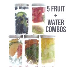 5 Fruit and Water Combos