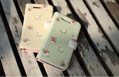 """Picnic""HAPPYMORI iPhone 5 Korean Flip Diary Type Cute Case Cover 5 Colors | eBay"