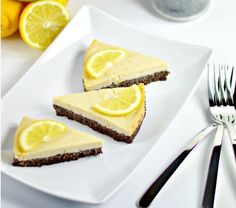 Vegan Lemon Pie on a Poppy Seed Crust | Community Post: 9 Delicious Vegan Desserts You Won't Believe Are Made From Tofu