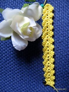 MACRAME 'ROMANIAN - POINT LACE: TRINE and CORDS - Nunzia Gregorina has an excellent blog on Romanian Point Lace aka Macrame Romanian.