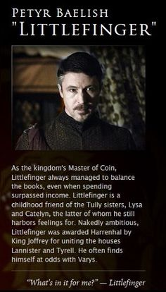 Petyr Baelish  Game of Thrones Photo (34123445)  Fanpop