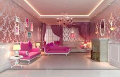 The Hello Kitty room ( Ask Can I Get My Room Decorated Like This