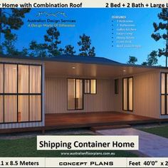 Best Selling Shipping Container house plans 1200 SQ. FOOT | Etsy Cargo Container Homes, Shipping Container Home Designs, Shipping Container House Plans, Building A Container Home, Storage Container Homes, Container House Design, Small House Design, Shipping Containers, Container Houses