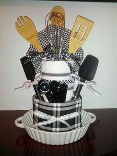Housewarming gift! Shower gift! Kitchen theme