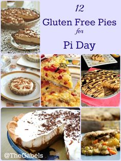 No wheat? No problem! Don't miss out on Pi Day with one of these delicious gluten free pie recipes!