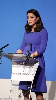 Kate spoke about mental health and other charity projects she is involved in through the foundation
