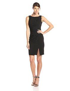 Calvin Klein Women's Sleeveless Side Rouched Sheath Dress, Black, 6 Calvin Klein http://www.amazon.com/dp/B00S6B51QI/ref=cm_sw_r_pi_dp_3pQ7ub0PHH215