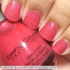 Review: Sinful Colors Live In Color Land Sugar Crushin Collection | Lipsticks & Nail Polish