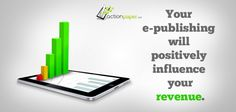 Using Social Media Channels to promote your e-publishing will positively influence your revenue. Social Media Channels, Positivity, Digital