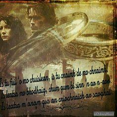Ye're blood of my blood... #Outlander #OutlanderTVSeries FanArt by @OrkneyHeart  -  https://www.facebook.com/FanArtPictures