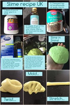 A slime recipe that will work in the UK! The key slime making ingredient that we need is in eye lens solution!