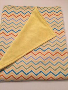 Multi Color Chevron - Baby Blanket, $29.99