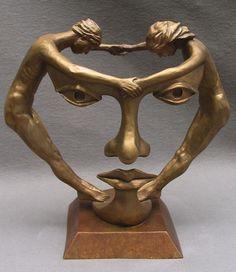 Surreal Symbolic Sculptures by Michael Alfano.