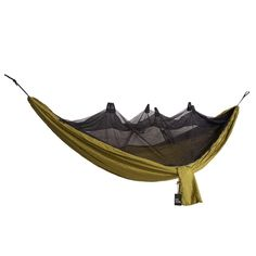 b0ce24bfa Camping Survivor Hammock with Mosquito Net (Carabiners  Ropes Included)  Portable Lightweight