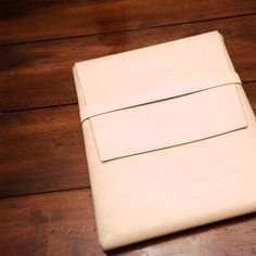Leather iPad Original Sleeve Case  Naked by TuchMade on Etsy, $90.00