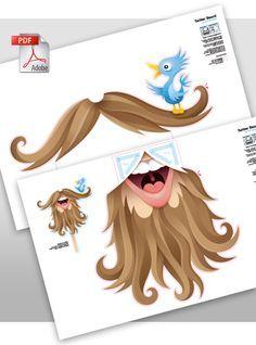 ART BACKWASH: Twitter Beard