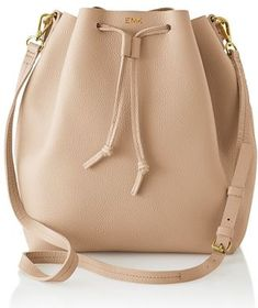 ad90e9424269 Monogrammed leather bucket bag Ted Baker Bag