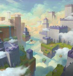 Game Level Design, Game Design, Game Environment, Environment Concept Art, Game Concept Art, Weapon Concept Art, Minecraft Fan Art, Traditional Artwork, Animation Background