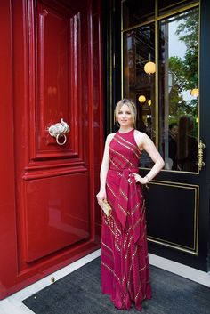 Dianna Agron at the Tory Burch Paris Opening