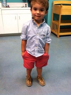 this is how my little boy will dress