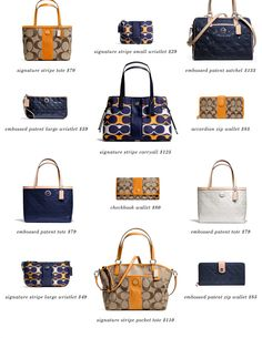Loving the new Coach fall collection.  Must have.