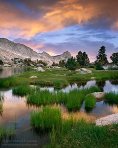 Tuolumne Meadows in Yosemite National Park, CA