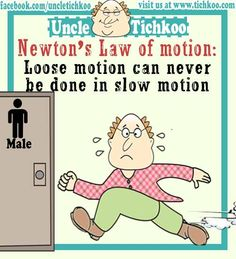 Newton's Law of motion - Loose motion can never be done in slow motion