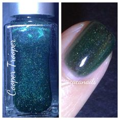 Cooper Trooper - British racing green scattered holo jelly