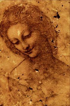 Head of Leda - Leonardo da Vinci