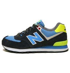 size 40 db358 0bdc3 New Balance Yacht Club lovers Black Yellow Blue women NB Shoes