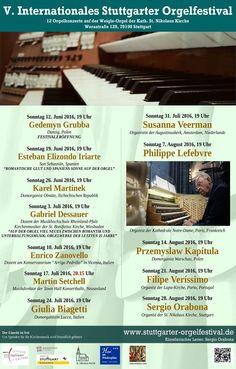Das Portal der Königin - V. Internationales Stuttgarter Orgelfestival