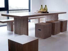 lof dining table by van rossum