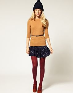 This is cute but the skirt needs to be longer