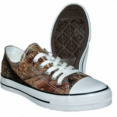 Itasca Boys' Sneaker, Realtree Xtra Green Camo -- look just like Converse sneakers