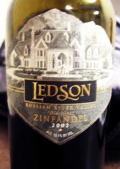 2002 #Ledson #RussianRiver #OldVine #Zinfandel #wine