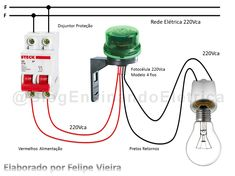 Um Blog de Elétrica para auxiliar profissionais do Pais inteiro. Electrical Panel Wiring, Electrical Circuit Diagram, Electrical Projects, Electrical Installation, Computer Projects, Electronic Circuit Projects, Electronic Engineering, Electronics Basics, Electronics Projects