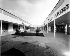 Did you know Lakeside Shopping Center used to be a strip mall? This photo is taken from the 60's. Pretty cool to look back how Lakeside has changed over the years!