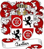 Carlier Coat of Arms  Carlier Family Crest   VIEW OUR FRENCH COAT OF ARMS / FRENCH FAMILY CREST PRODUCTS HERE