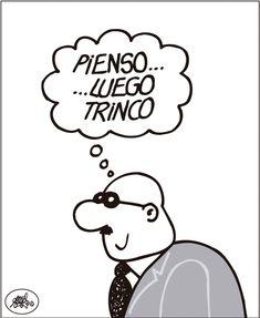 [Forges] Interpretación cartesiana de la corrupción Forges en El País 02/02/2018 Humor Grafico, Manga Comics, Album, Memes, Funny, Fictional Characters, Founding Fathers, Rest In Peace, Cool Cars