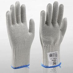Garden Gloves 1 Pair Cut Resistant Safety Gloves Anti-cutting For Gardening Butcher Work Outdoor Protection Tool Elastic Stab Resistant Mitten Distinctive For Its Traditional Properties