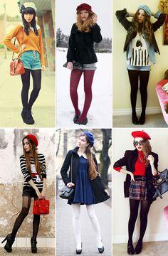 indie fashion so cute. Moda Fashion, Indie Fashion, Hipster Fashion, Pink Fashion, Retro Fashion, Fashion Outfits, Womens Fashion, Grunge Fashion, Hipsters