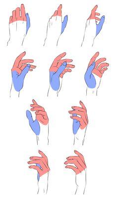 Drawing Skills, Drawing Lessons, Drawing Techniques, Drawing Tips, Drawing Hands, Hand Drawing Reference, Anatomy Reference, Art Reference Poses, Drawing Base