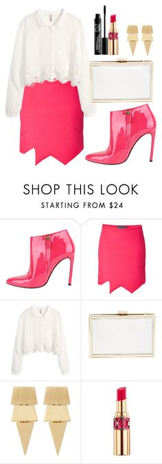 """""""Good Morning"""" by lostuser ❤ liked on Polyvore featuring Gucci, Preen, H&M, Witchery and Yves Saint Laurent"""